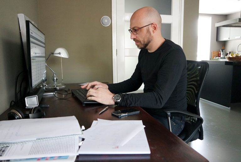 man-working-from-home